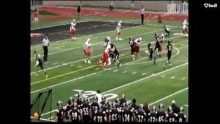Cameron Norris - 2016 Central vs. Clearfield Highlights 9-9-16