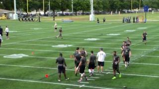 Cameron Norris - 2016 Navy Rising Senior Football Camp 6-23-16