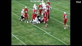 Cameron Norris - 2016 Hollidaysburg vs. Central Highlights 8-26-16
